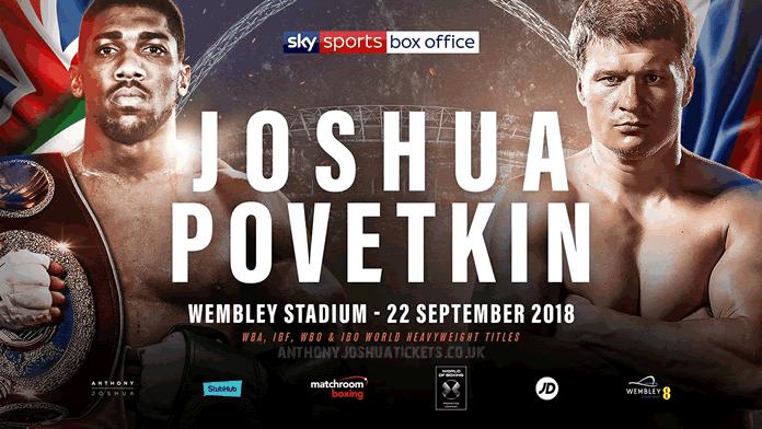 Joshua vs Povetkin.